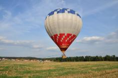 Akce kotvených letů balónem - 24.9.2016