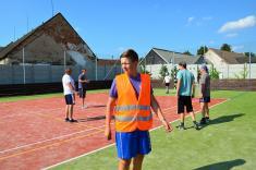 Otevření sportovního areálu a oslava 500 let první zmínky o obci