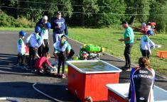 Hasičské závody na novém sportovišti
