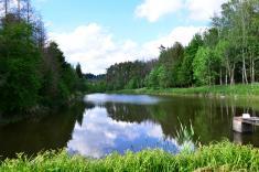Poklad u Stříbrného jezera