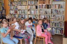 Předprázdninová knihovna