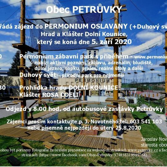 Zájezd do Permonium Oslavany, hrad a klášter Dolní Kounice 1