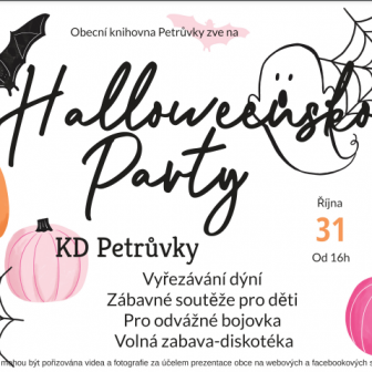 Halloweenská párty